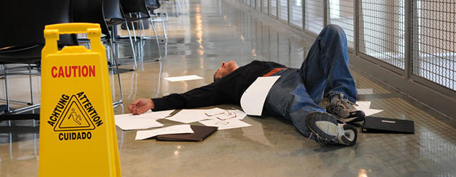 Contacting a lawyer for slip and fall injuries